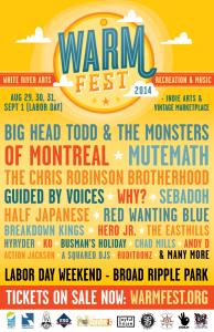 WARMfest poster