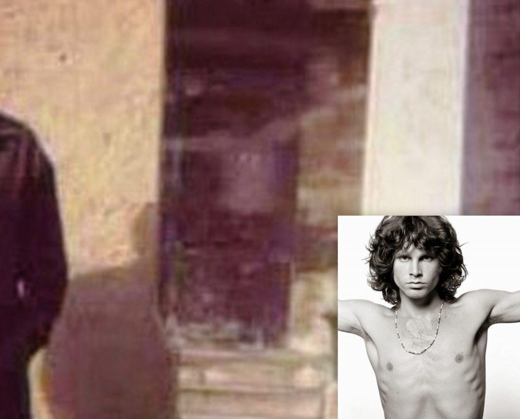 Jim Morrison Ghostly Photo. Brett Meisner @Père Lachaise 1997