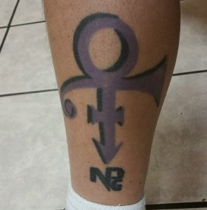 Prince Tribute Victor Cruz Tattoo